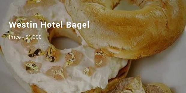 westin hotel bagel