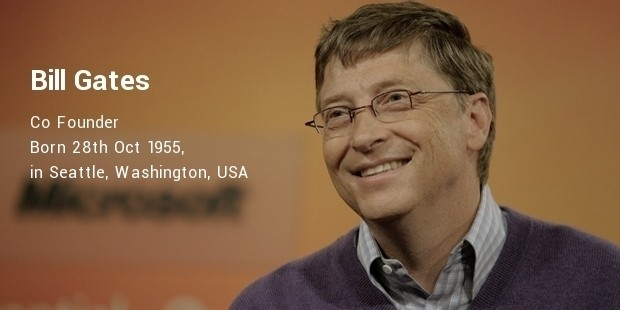 william henry bill gates