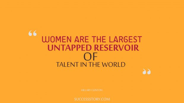 Women are the largest untapped