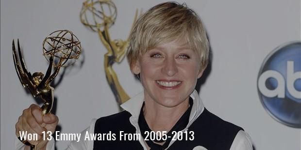 Won 13 Emmy Awards From 2005-2013