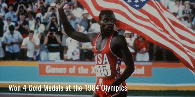 won 4 gold medals at the 1984 olympics
