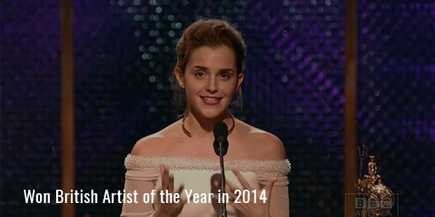 Won British Artist of the Year in 2014
