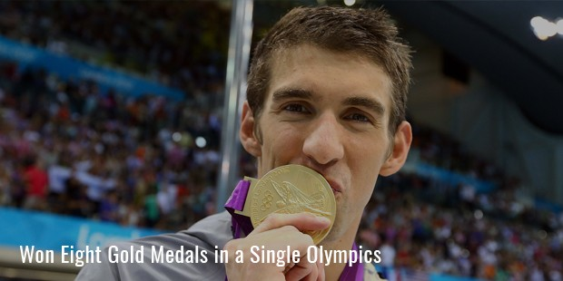 won eight gold medals in a single olympics