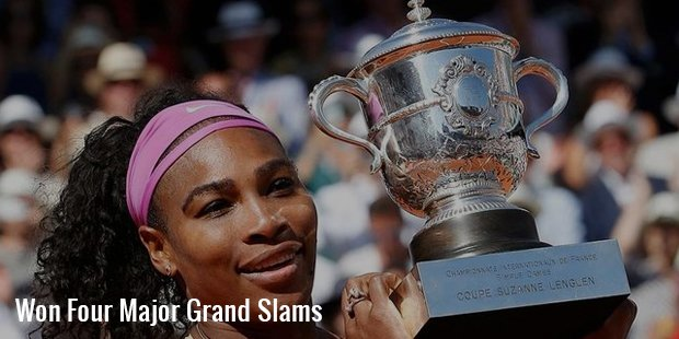 won four major grand slams
