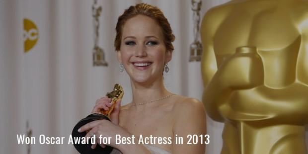 Won Oscar Award for Best Actress in 2013