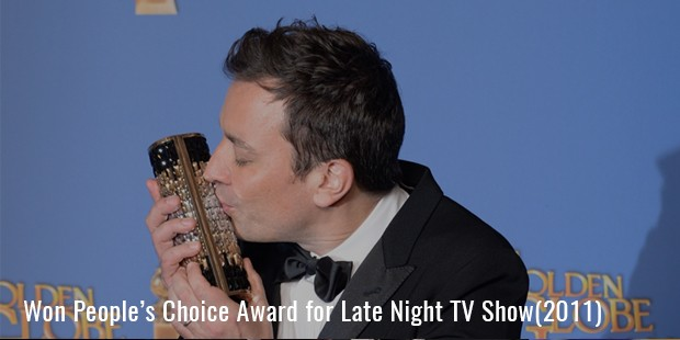 Won People's Choice Award for Late Night TV Show(2011)