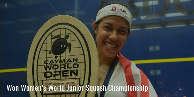 won womens world junior squash championship