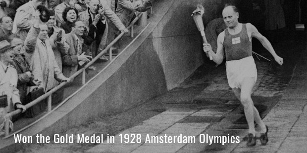 won the gold medal in 1928 amsterdam olympics