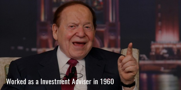 worked as a investment adviser in 1960