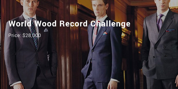 world wood record challenge