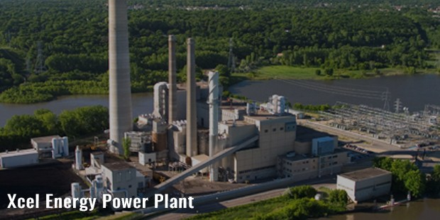 xcel energy power plant