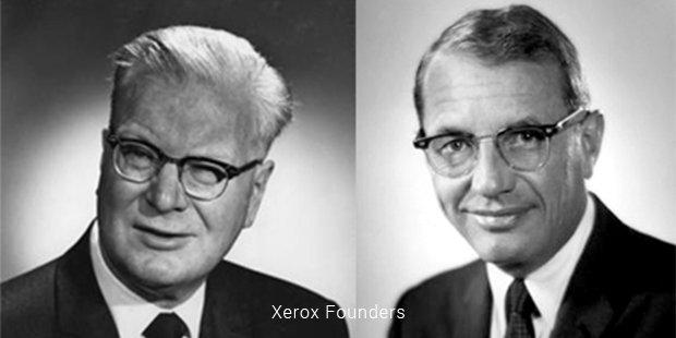 xerox founders