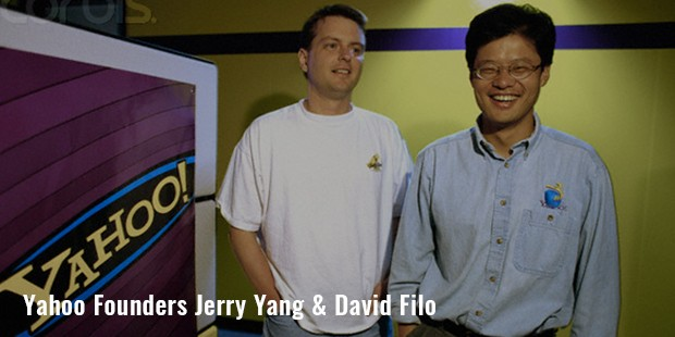 yahoo founders jerry yang   david filo