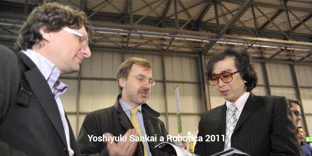 yoshiyuki sankai a robotica 2011