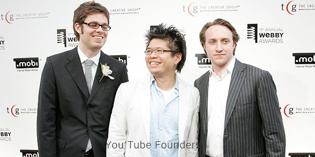 you tube founders