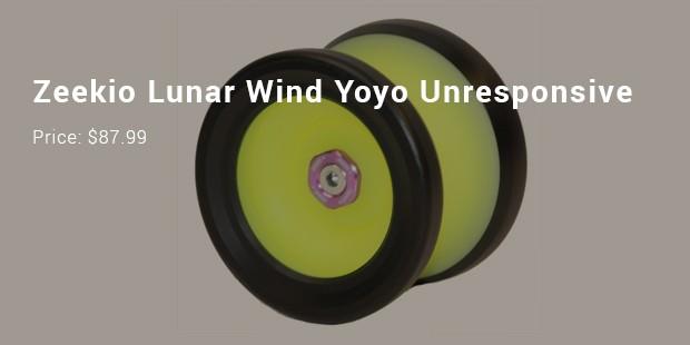 zeekio lunar wind yoyo unresponsive