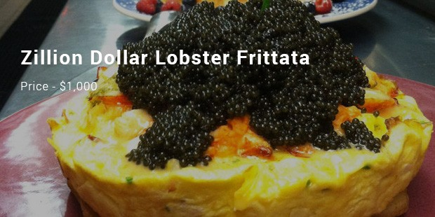 zillion dollar lobster frittata