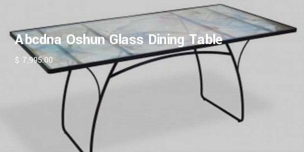 abcdna oshun glass dining table