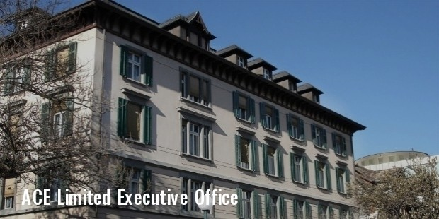 ace limited executive offices