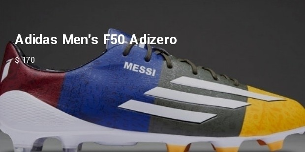 adidas mens f50 adizero fg firm ground soccer cleats