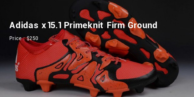 adidas x151 primeknit firm ground
