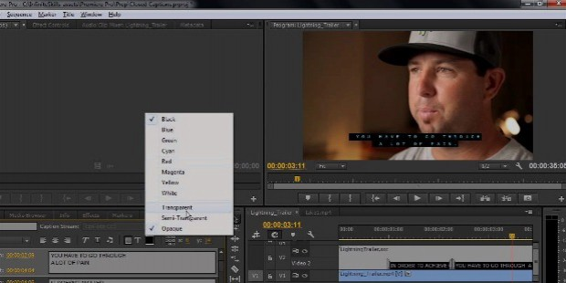 adobe pro cc import editing