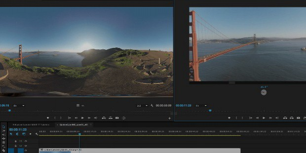 adobe pro cc virtual reality editing