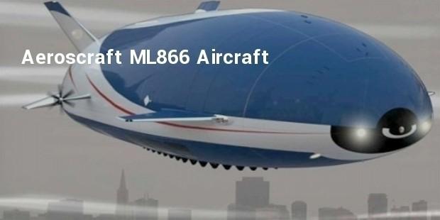 aeroscraft ml866 aircraft