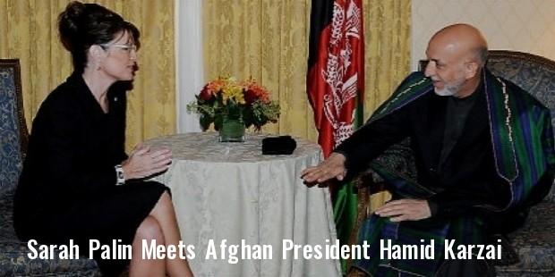 afghan president hamid karzai  l