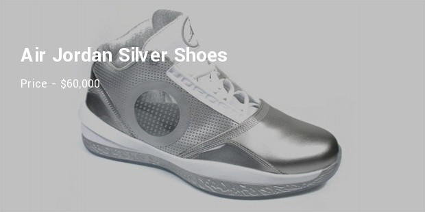 air jordan silver shoes