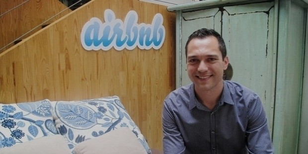 airbnb founder