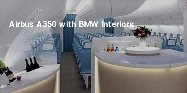 airbus a350 with bmw interiors