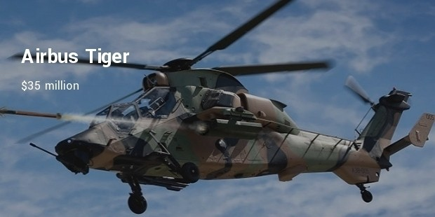 airbus tiger helicopter