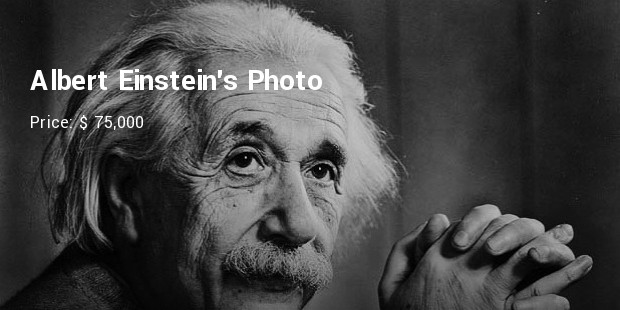 albert einsteins photo