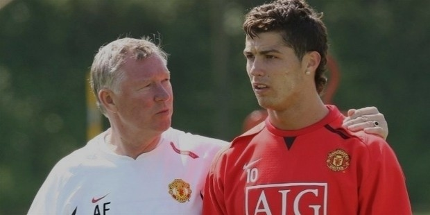 alex ferguson cr7