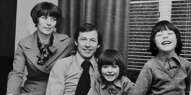 alex ferguson family