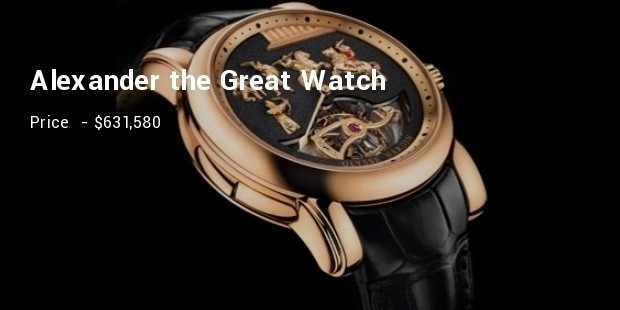 alexander the great watch