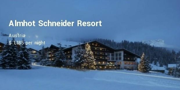 almhot schneider resort