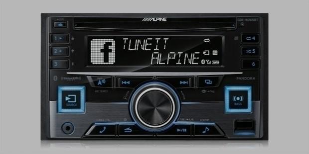 alpine cde w265bt