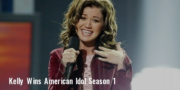 american idol kelly clarkson season 1
