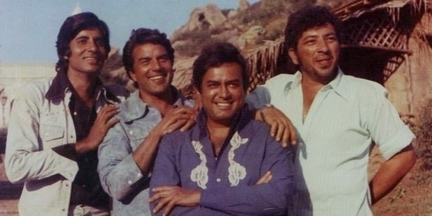 amitabh in sholay