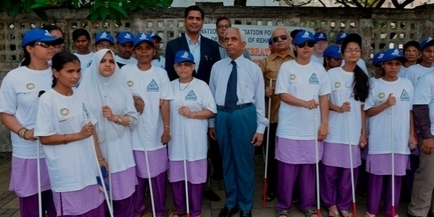 amway celebrates white cane day in association with national association of blind