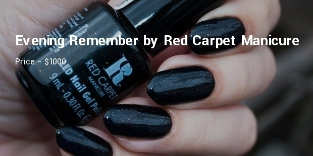 an evening to remember by red carpet manicure