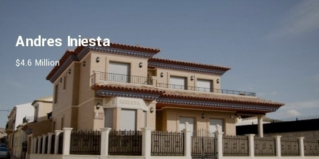 andres iniesta house