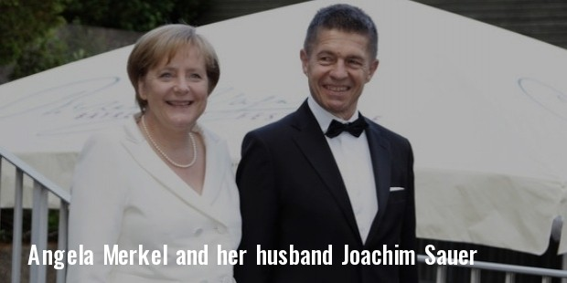 angela merkel and her husband joachim sauer