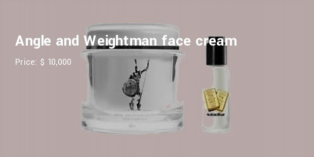 angle and weightman face cream
