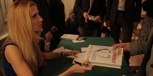 ann coulter signs book fan 1