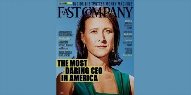 anne wojocicki most daring ceo