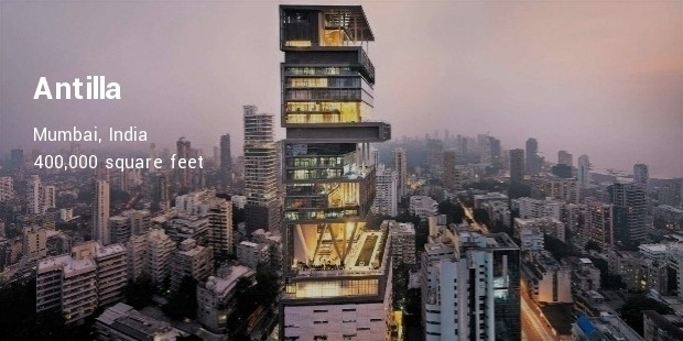 antilla  mumbai, india