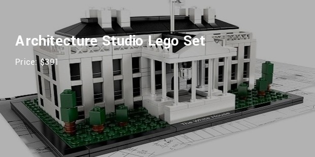 architecture studio lego set